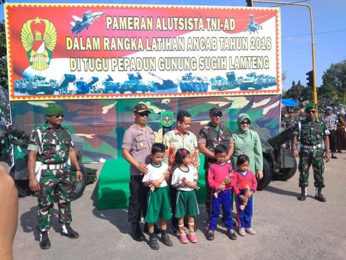 Batalyon Arhanud 1 Kostrad Ikut Serta Dalam Pameran